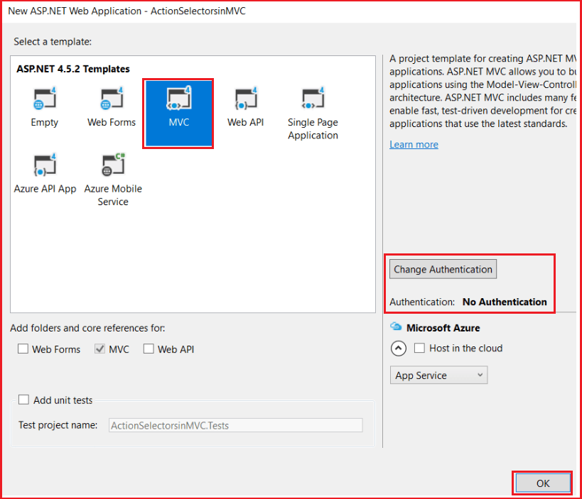 Action Selectors in ASP.NET MVC Application with some examples