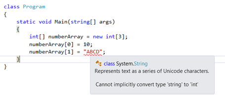 Advantages and Disadvantages of Arrays in C#