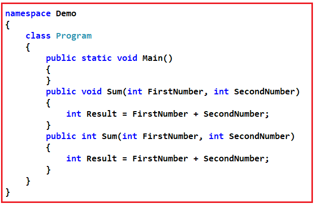 Functions Interview Questions and Answers in C#