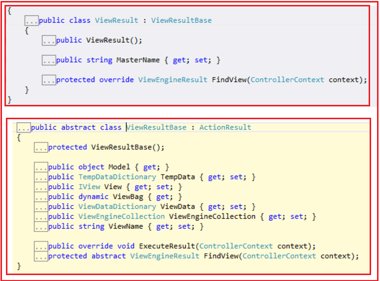 View Result Class in ASP.NET MVC