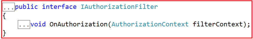 Authorization Filters in MVC