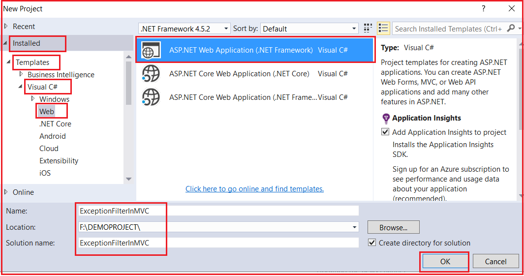 How to use Handle Error Attribute in ASP.NET MVC Application?
