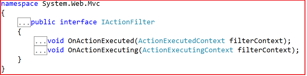 Custom Action Filters in MVC Application