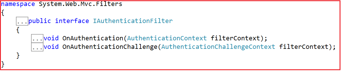 creating a Custom Authentication Filter in MVC