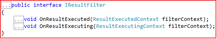 ASP.NET MVC Result Filters