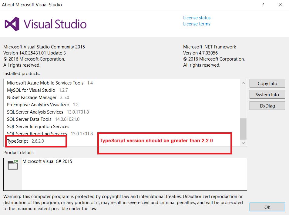 Angular Environment Setup in Visual Studio