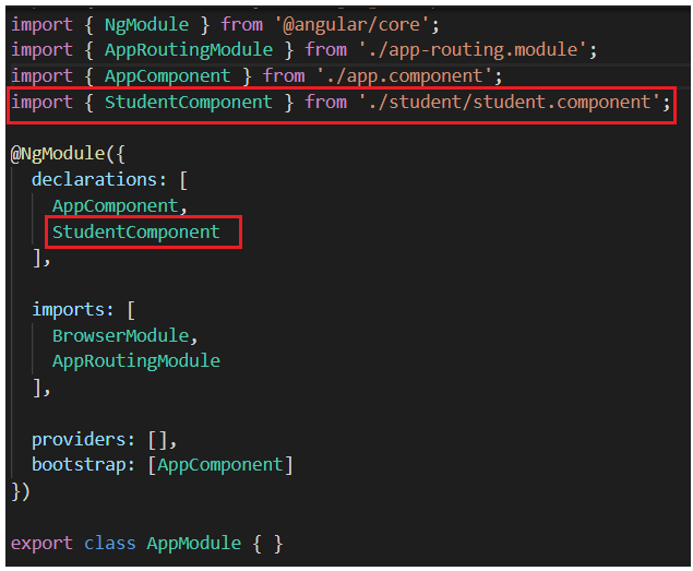 What is Nested Component in Angular?