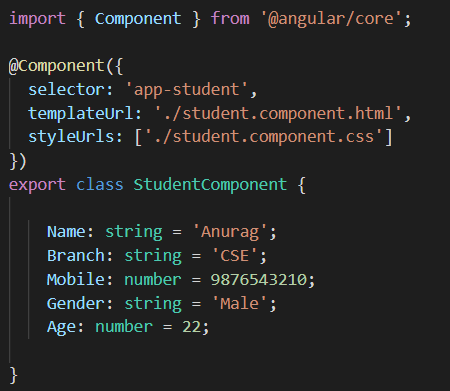 different options that are available in Angular for Styling Angular Components