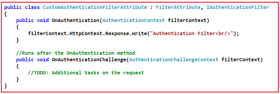 ASP.NET MVC Filters Interview Questions with Answers
