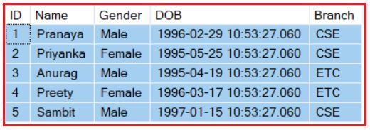 Example to Understand Inline Table-Valued Function in SQL Server