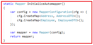 AutoMapper Complex Mapping in C#