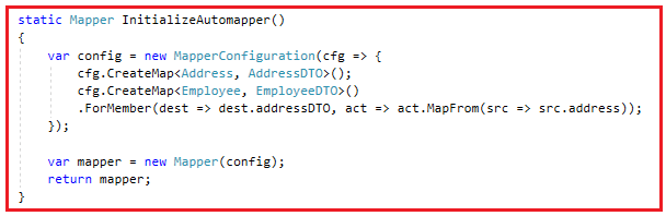 Complex Mapping using AutoMapper in C#