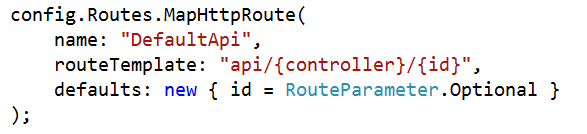 Routing in ASP.NET Web API