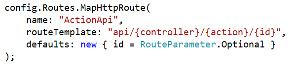 Routing Variations in WEB API