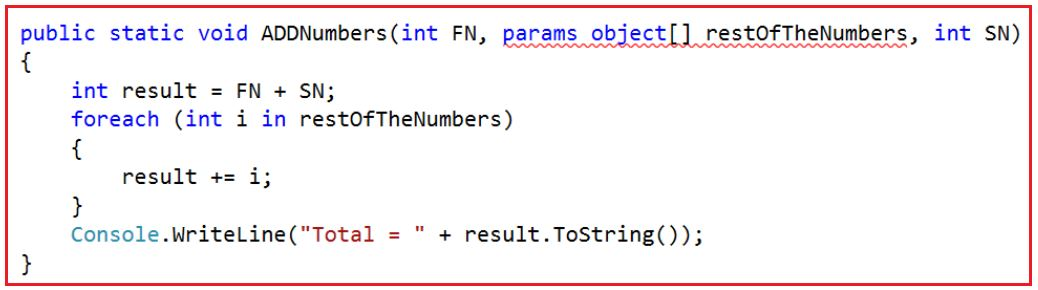 How to make Optional Parameters in C# with Examples