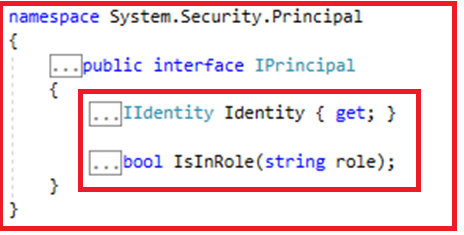 Authentication and Authorization in Web API - IPrincipal Object