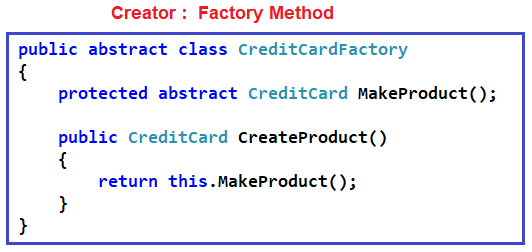 Understanding Factory Method Pattern in C#