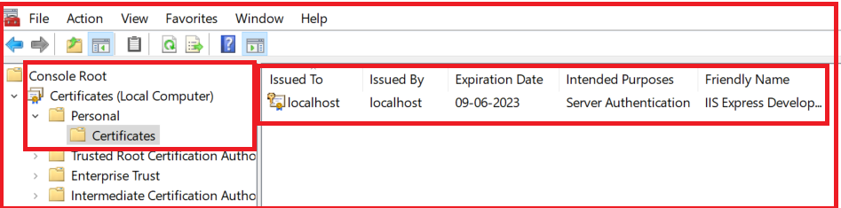Enable SSL in Visual Studio Development Server