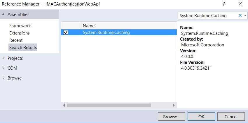 HMAC Authentication in C#