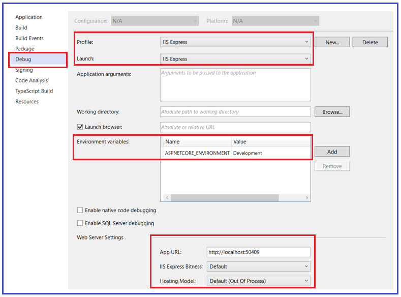 How to access the Graphical User Interface (GUI) in Visual Studio?