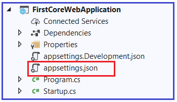 What is ASP.NET Core appsettings.json File?