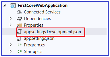 What is the Configuration Execution Order in ASP.NET Core Application?