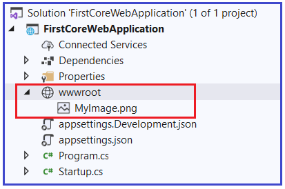 Static Files Middleware in ASP.NET Core Application
