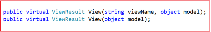 Strongly Typed View in ASP.NET Core MVC Application