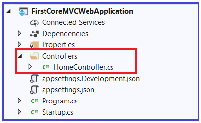 Adding Controller in ASP.NET Core Application