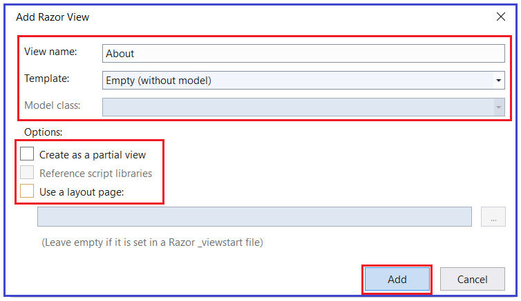 What are Views in ASP.NET Core MVC Application?