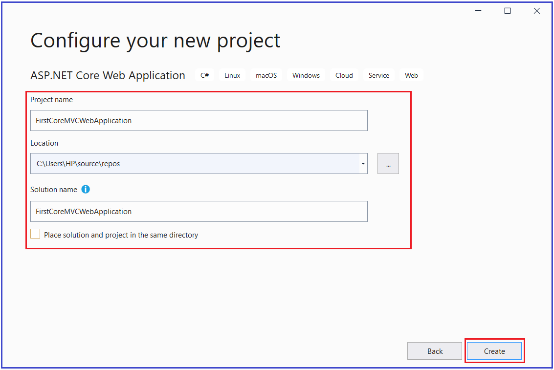 How to Set up MVC in ASP.NET Core Application