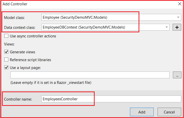 Forms Authentication in MVC