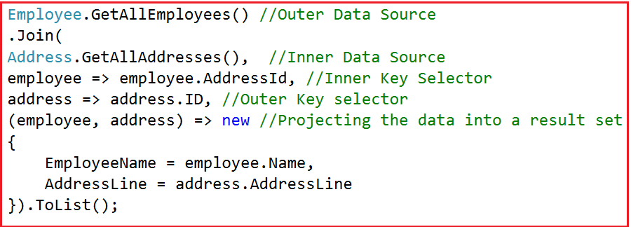 Linq Inner Join Using Method Syntax