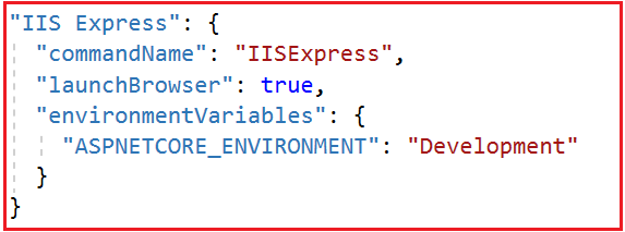 How to set Environment in ASP.NET Core Application?