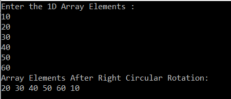 How to Perform Left Circular Rotation of an Array in C#