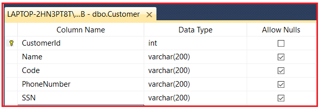 Database Normalization First Normal Form