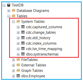 Enable CDC on Database Level