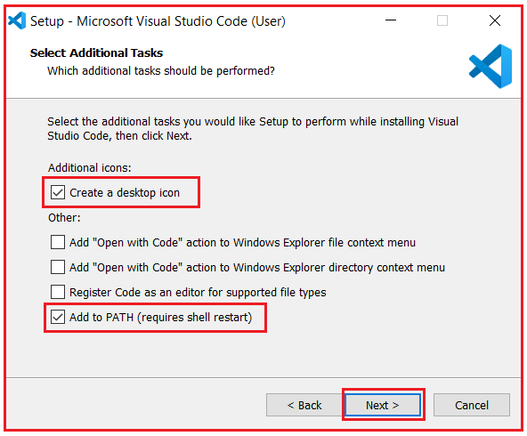 Installing Visual studio code step by step