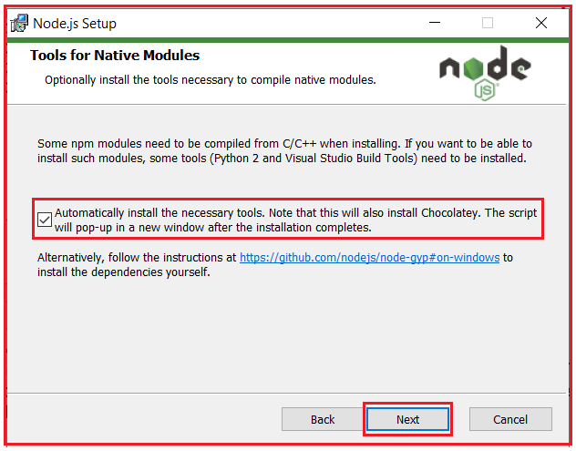 How to install nodejs in windows machine to develop angular application
