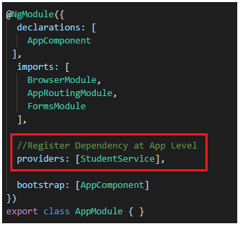 What is Angular Dependency Injection?