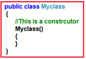 Defining a Constructor in Java