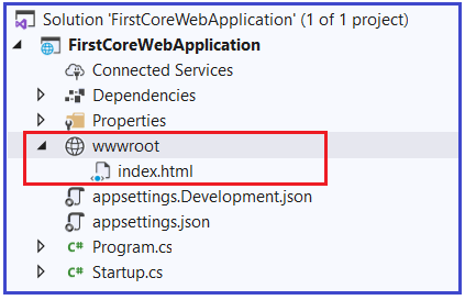 How to Configure Default Page in ASP.NET Core