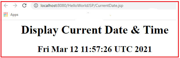 How to Handle Dates in JSP Applications