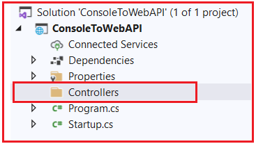 How to Add a Controller to ASP.NET Core Web API Application