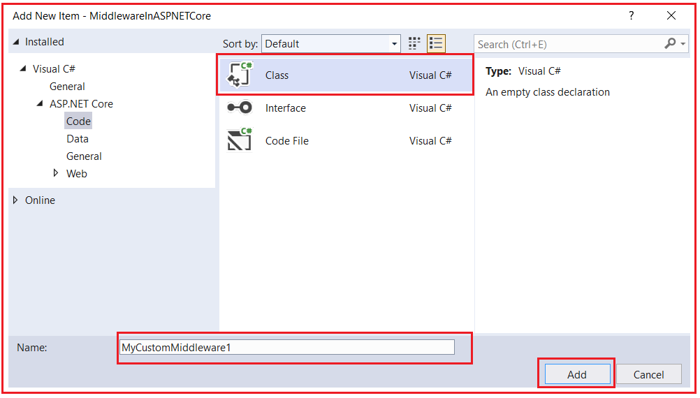 How to Create, Register, and use Custom Middleware Components in ASP.NET Core