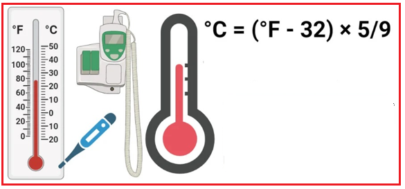 How to Convert Fahrenheit to Celsius in C#?