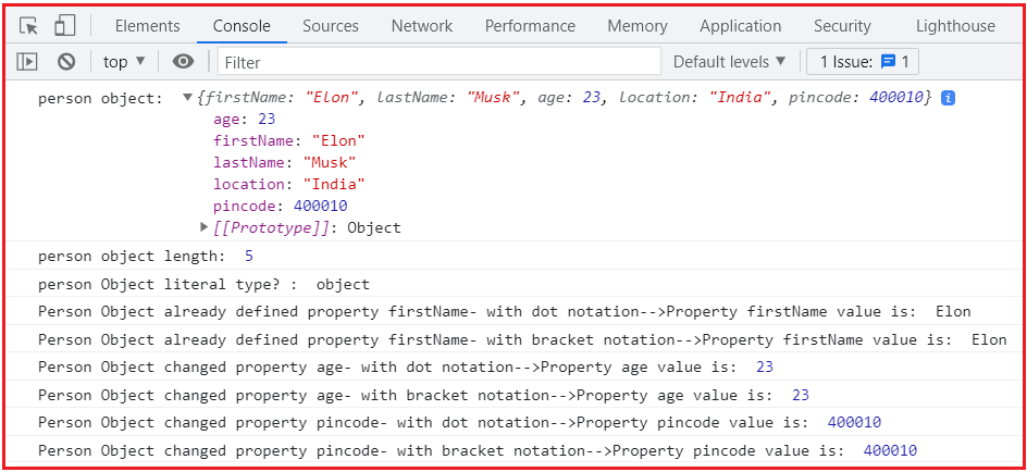 How to Add a new Property in JavaScript Objects with Examples